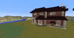 Victorian Family House (without interior) Minecraft Map & Project