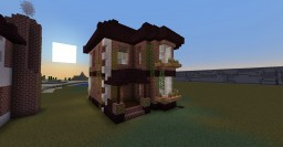 Small Victorian house (without interior) Minecraft Map & Project