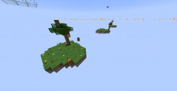 Sky Wars with ONE! Command Block! 1.9 (Map By FOKIFOX)(Command by The SpellBook) 2 players (WORK!) Minecraft Map & Project