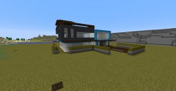 Modern house (Without interior) Minecraft Map & Project