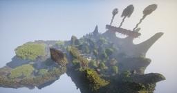Squareland Minigames hub spawn Minecraft Project