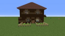 A house for a big family like mine ;-)  Behind the picket fence contest Minecraft Project