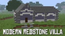 Modern Redstone Villa Minecraft Project