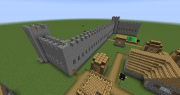 Old School Castle Minecraft Project