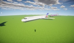 MD-80 Family Minecraft Map & Project