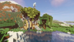 Medieval Watermill Minecraft Project