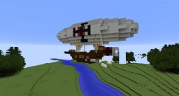 Imperial Scout Airship Minecraft Project