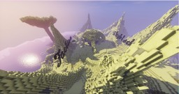 Desert lobby for servers Minecraft Project