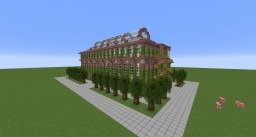 The Brick Greenhouse Minecraft Project