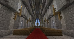 The Curved Cathedral Minecraft Project