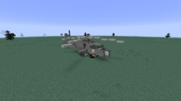 Apache Helicopter Minecraft Project
