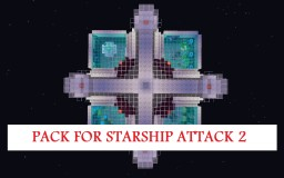Pack for map Starship Attack 2 Minecraft Texture Pack