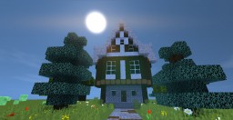 Small medieval Town Hall/House Minecraft Map & Project