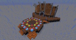 Cirque du Soleil: Dralion Stage Minecraft Project