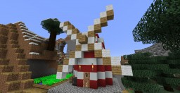 Small Windmill Minecraft Map & Project