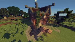 Medieval Buildings#2 Miner House Minecraft Project