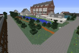 The Walking Dead - Alexandria Safe-Zone Minecraft Project