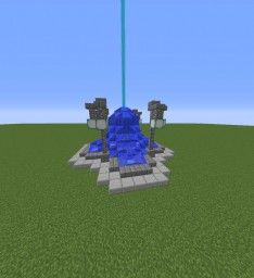Mid Town Fountain Minecraft Project