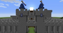Behind the Picket Fence - Castle Entry Minecraft Map & Project