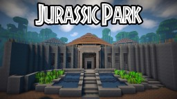 Jurassic Park Visitor Center Minecraft Map & Project