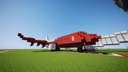 Red & White boeing 737-er Minecraft Project