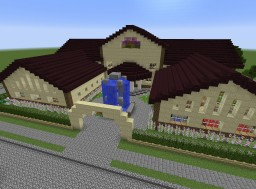 Mckeen Manor Behind the White Picket Fence Contest Minecraft Project