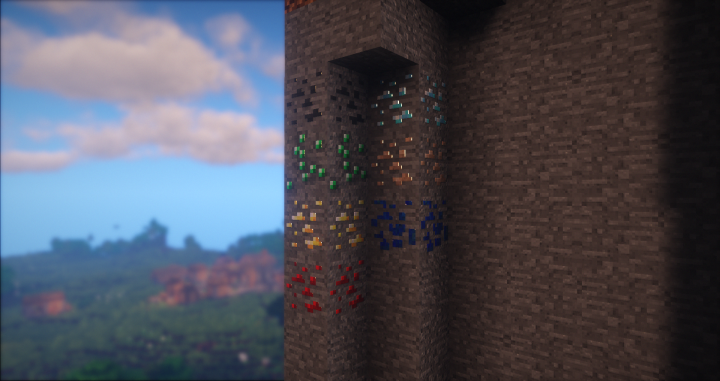 Glossy ores Shader Add-On