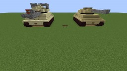 German Tiger Tank Minecraft Project