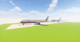 Airbus A300 + Liveries Minecraft Project
