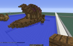 I'm on a boat... I'm on a boat... Butye, House Boat! Minecraft Project