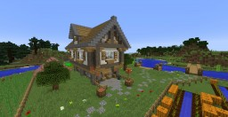 Medival River House Minecraft Project