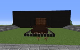 Outside Concert (Working Redstone Lights) Minecraft Project