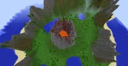 Volcano Island Minecraft Project