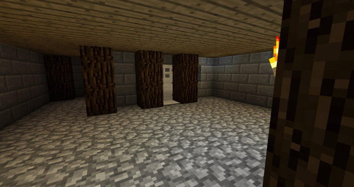 Entrance to Cells