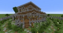 Behind the Picket Fence - House Minecraft Project