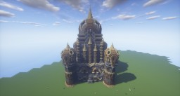 """""""Across the way"""" Cathedral. Minecraft Project"""