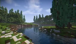 Realistic Scenery Vol. 1 (map for builders) Minecraft Project