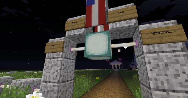 Red Dawn War Memorial Minecraft Map