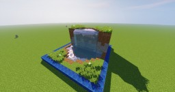 Water Fall Chunk Minecraft Project