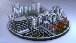 Ogen City - The Modern City [BuildPlanet Application] Minecraft Project
