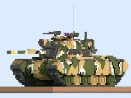 R.O.K.A M48A5K 10:1 Scale Minecraft Project