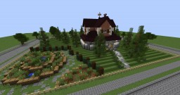 American House | Behind the Picket Fence Minecraft Project