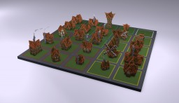 Pack Houses Minecraft Project