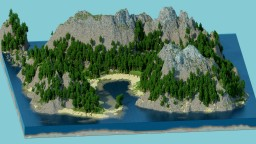 Small Island Oasis - 1st stream build Minecraft Project