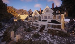 Manor Of Resident Evil 7 Minecraft