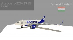 Airbus A320-271N GoAir [Indian Aviation EP] [+Schematic] Minecraft Map & Project