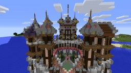 Hex Magicka - Gothic Island Village Minecraft Map & Project