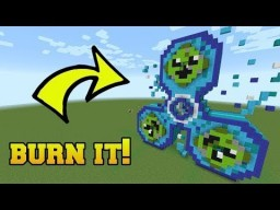 Fidget Spinner burning 1.11.2 Minecraft Project