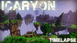 Icaryon - Village on the Floating Island by Exaude & RekyuGan Minecraft Map & Project