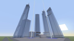 New World Trade Center Mini-Model Minecraft Map & Project
